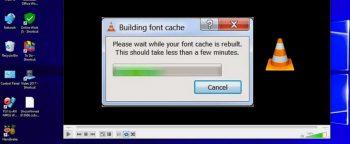 """Cách vô hiệu hoá """"Font Cache"""" trong phần mềm VLC Media Player"""