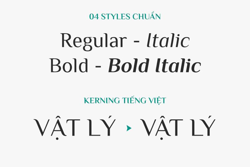 Một số loại font chữ cổ điển thông dụng hiện nay