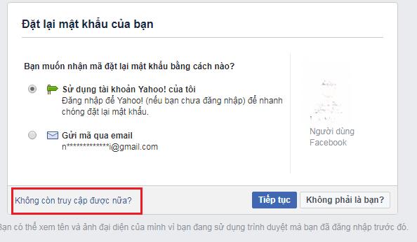 Cách lấy lại tài khoản mật khẩu Facebook bị hack nhờ bạn bè hoặc người thân