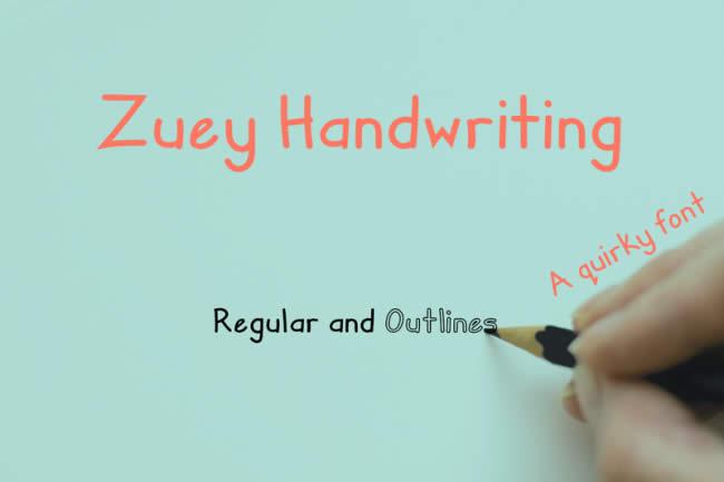 Thiết kế đồ họa độc đáo với font chữ viết tay