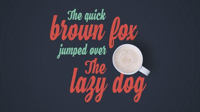 Bộ font chữ retro tuyệt đẹp dành cho thiết kế