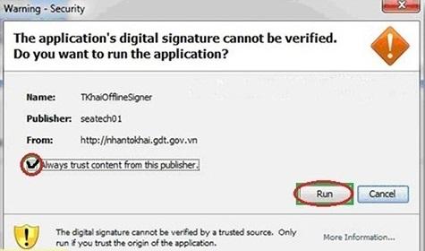 Cách khắc phục kê khai thuế qua mạng lỗi Java nhanh chóng sau 1 phút