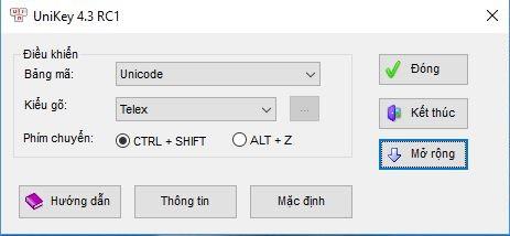 Hướng dẫn cài đặt Unikey 4.3 mới nhất, cách phân biệt phiên bản chính chủ và giả mạo