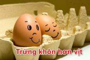Trứng khôn hơn vịt